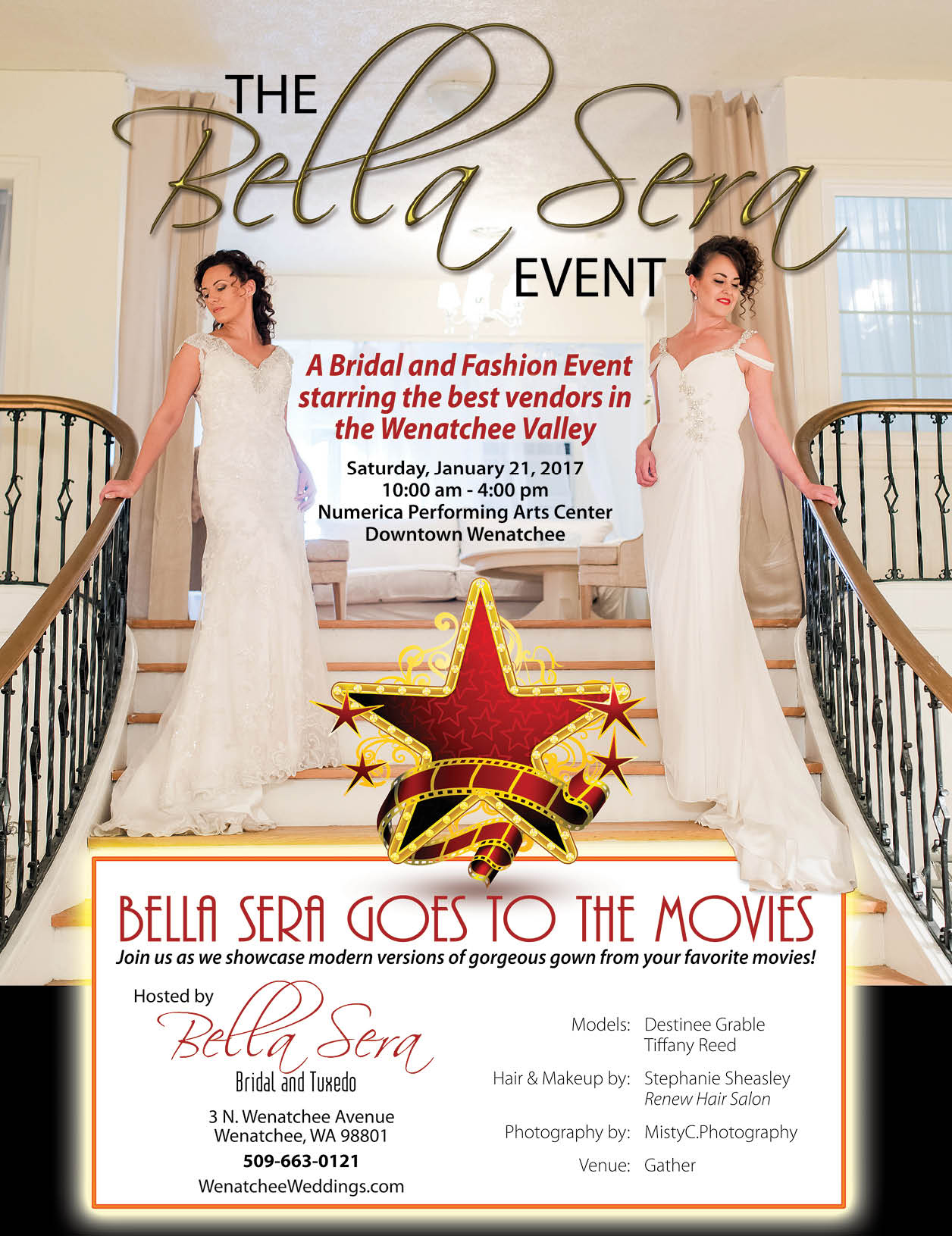 Bridal fairs vendor associations for The bella sera