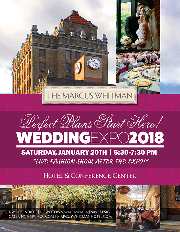 Marcus Whiitman Wedding Expo WRG Ad 2018