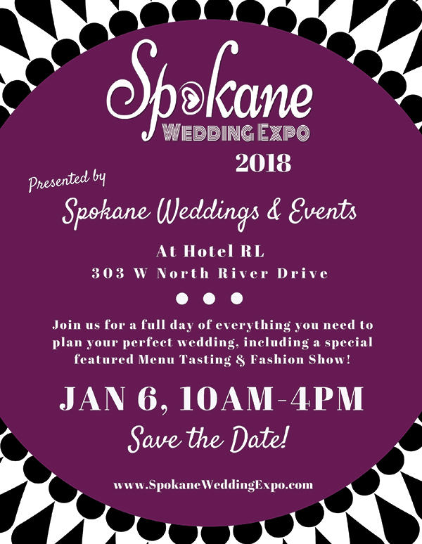 Spokane Wedding Expo 2018 WRG Ad