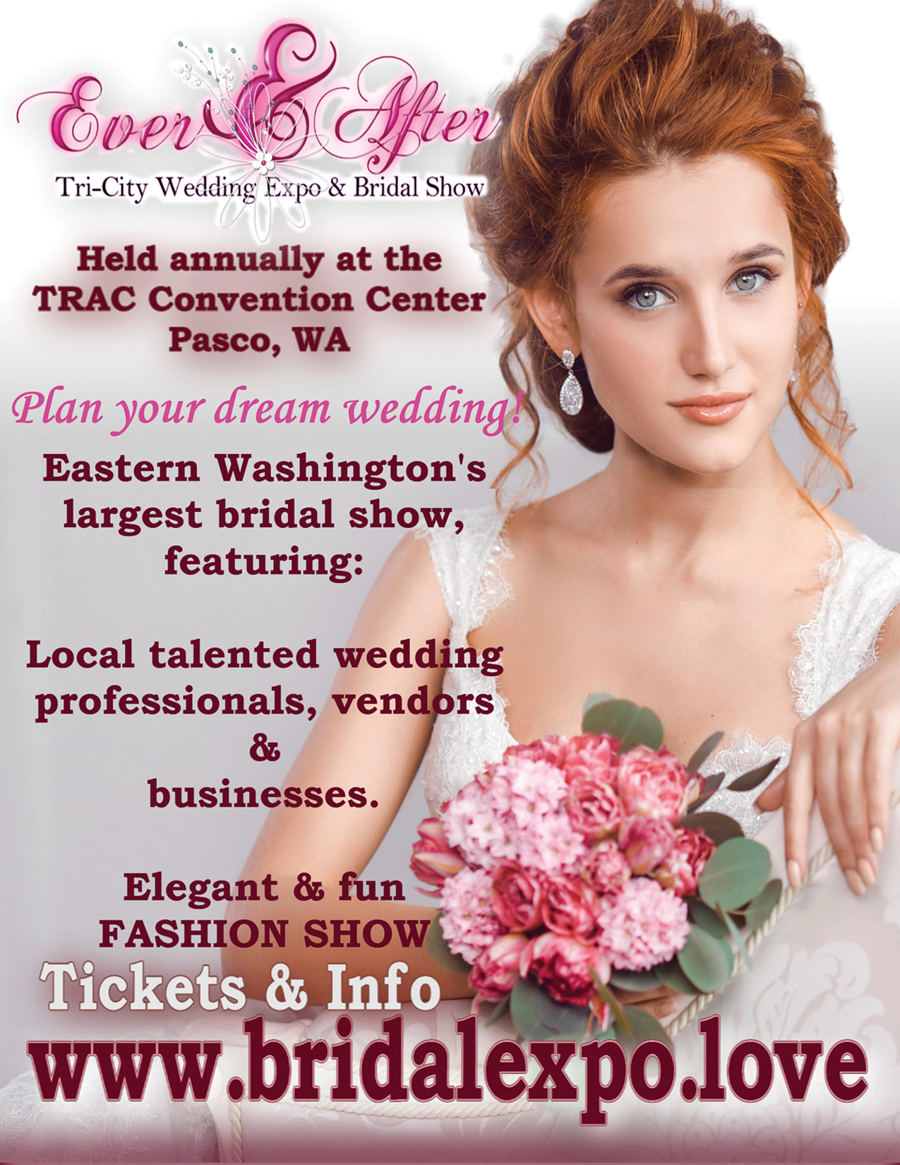Ever After TC Bridal Expo WRG Ad 2019 WEB